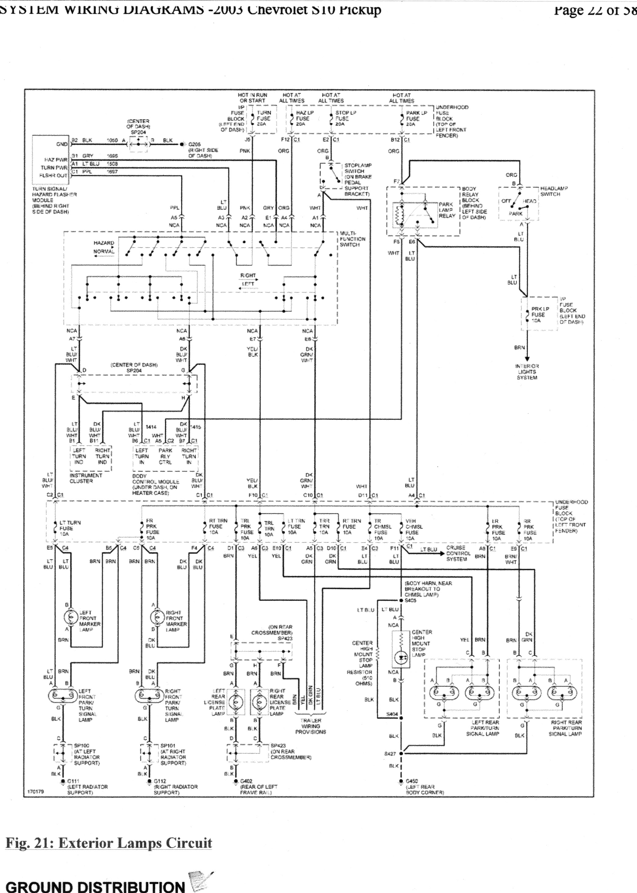 Turn Signal On Rear Driver Side Not Working Wiring Diagram